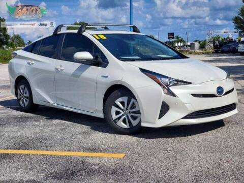 2018 Toyota Prius for sale at GATOR'S IMPORT SUPERSTORE in Melbourne FL