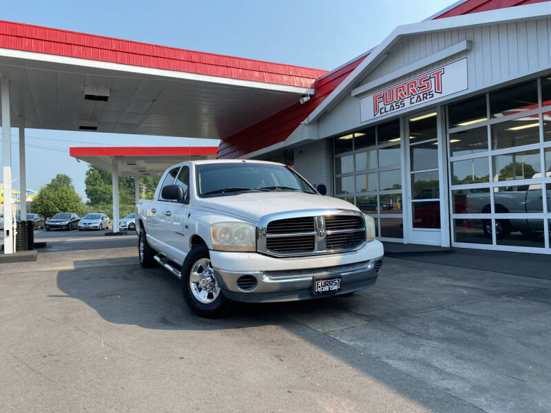 2006 Dodge Ram Pickup 1500 for sale at Furrst Class Cars LLC  - Independence Blvd. in Charlotte NC