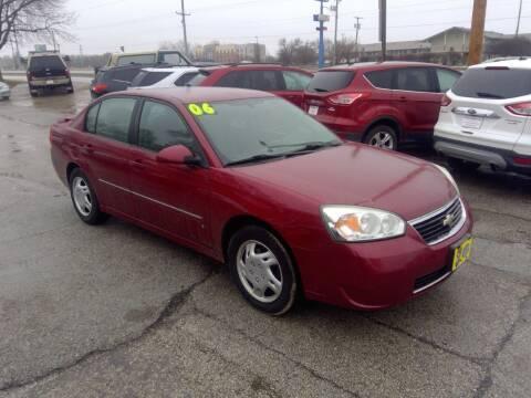 2006 Chevrolet Malibu for sale at Regency Motors Inc in Davenport IA