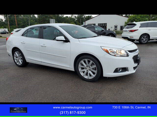2015 Chevrolet Malibu for sale at Carmel Auto Group in Indianapolis IN