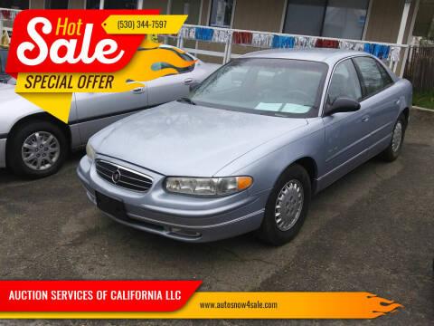 1997 Buick Regal for sale at AUCTION SERVICES OF CALIFORNIA in El Dorado CA
