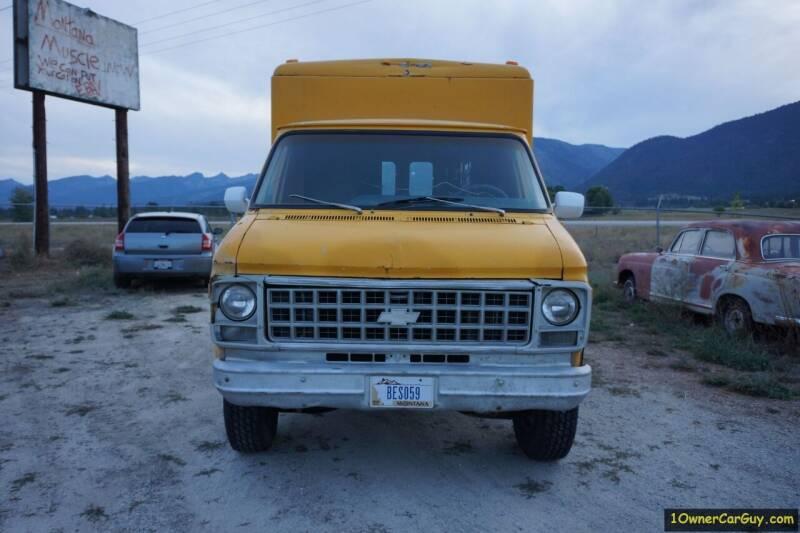 1981 Chevrolet G30 for sale at 1 Owner Car Guy in Stevensville MT