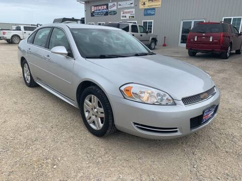 2016 Chevrolet Impala Limited for sale at Becker Autos & Trailers in Beloit KS
