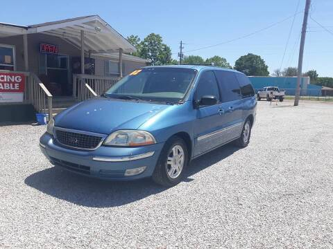 2002 Ford Windstar for sale at Space & Rocket Auto Sales in Hazel Green AL