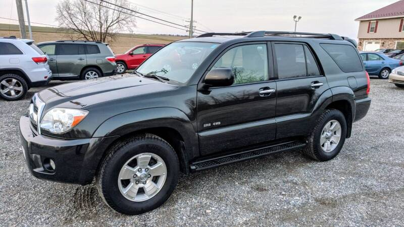 2007 Toyota 4Runner for sale at Cub Hill Motor Co in Stewartstown PA