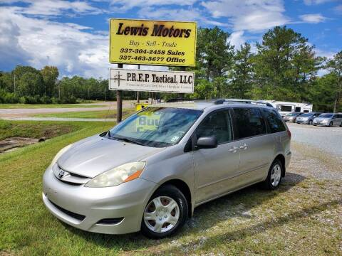 2009 Toyota Sienna for sale at Lewis Motors LLC in Deridder LA