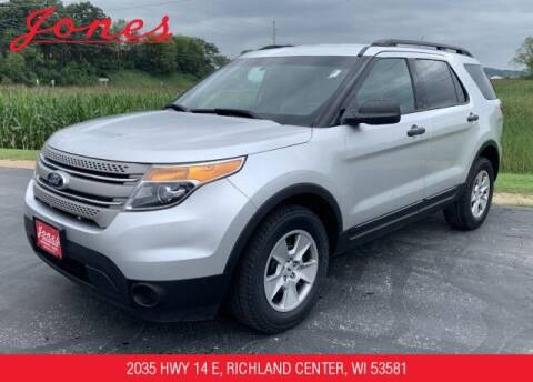 2013 Ford Explorer for sale at Jones Chevrolet Buick Cadillac in Richland Center WI