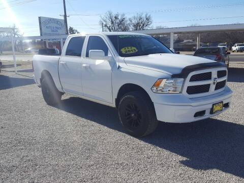 2013 RAM Ram Pickup 1500 for sale at Bostick's Auto & Truck Sales in Brownwood TX