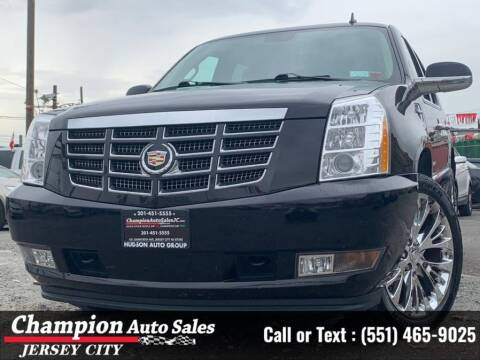 2014 Cadillac Escalade for sale at CHAMPION AUTO SALES OF JERSEY CITY in Jersey City NJ
