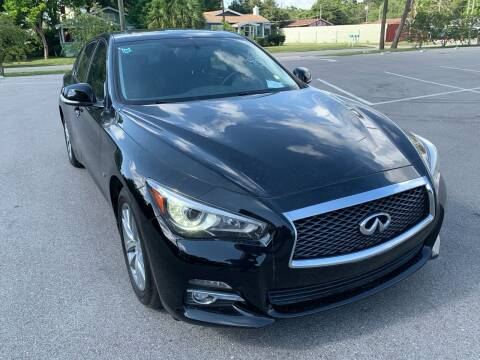 2014 Infiniti Q50 for sale at Consumer Auto Credit in Tampa FL