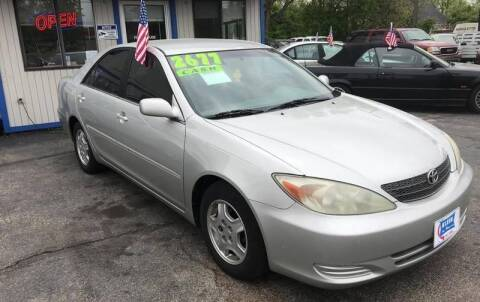 2002 Toyota Camry for sale at Klein on Vine in Cincinnati OH