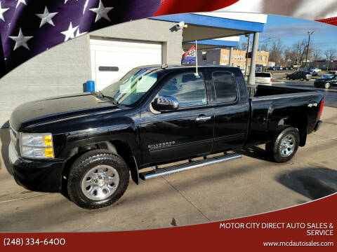 2011 Chevrolet Silverado 1500 for sale at Motor City Direct Auto Sales & Service in Pontiac MI