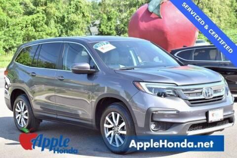2019 Honda Pilot for sale at APPLE HONDA in Riverhead NY