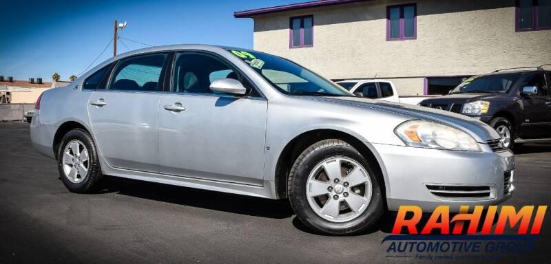 2009 Chevrolet Impala for sale at Rahimi Automotive Group in Yuma AZ