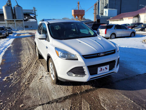 2014 Ford Escape for sale at J & S Auto Sales in Thompson ND