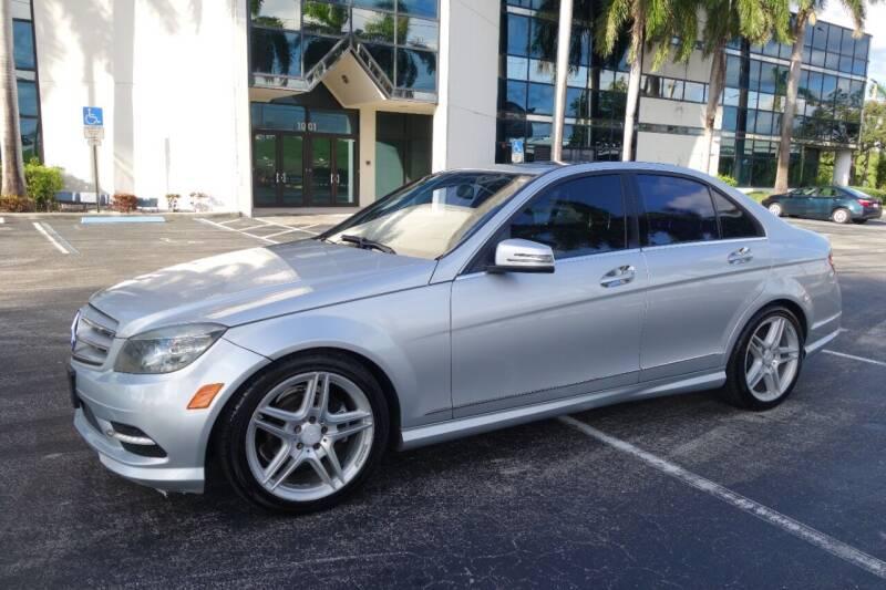 2011 Mercedes-Benz C-Class for sale at SR Motorsport in Pompano Beach FL