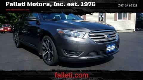 2015 Ford Taurus for sale at Falleti Motors, Inc.  est. 1976 in Batavia NY