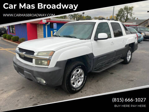 2003 Chevrolet Avalanche for sale at Car Mas Broadway in Crest Hill IL