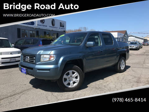 2006 Honda Ridgeline for sale at Bridge Road Auto in Salisbury MA