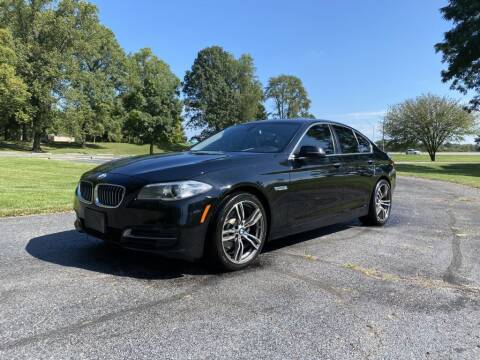2014 BMW 5 Series for sale at Moundbuilders Motor Group in Heath OH