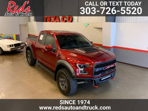 2018 Ford F-150 for sale at Red's Auto and Truck in Longmont CO