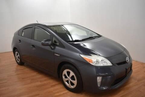 2012 Toyota Prius for sale at Paris Motors Inc in Grand Rapids MI