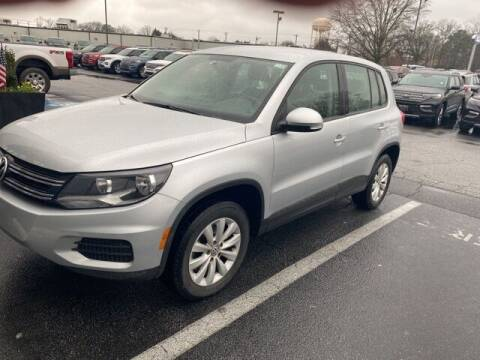 2013 Volkswagen Tiguan for sale at BILLY HOWELL FORD LINCOLN in Cumming GA