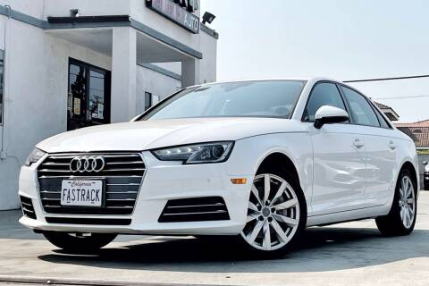 2017 Audi A4 for sale at Fastrack Auto Inc in Rosemead CA