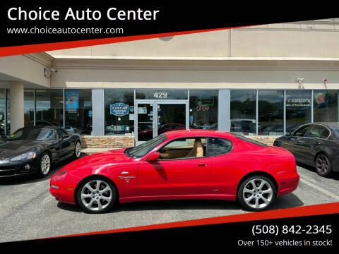 2002 Maserati Coupe for sale at Choice Auto Center in Shrewsbury MA