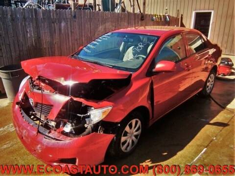 2010 Toyota Corolla for sale at East Coast Auto Source Inc. in Bedford VA