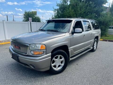 2001 GMC Yukon XL for sale at Giordano Auto Sales in Hasbrouck Heights NJ