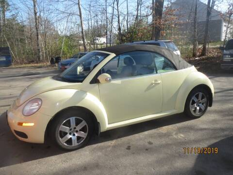 2006 Volkswagen New Beetle for sale at D & F Classics in Eliot ME