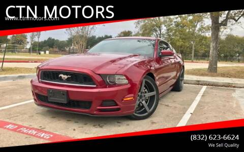 2014 Ford Mustang for sale at CTN MOTORS in Houston TX