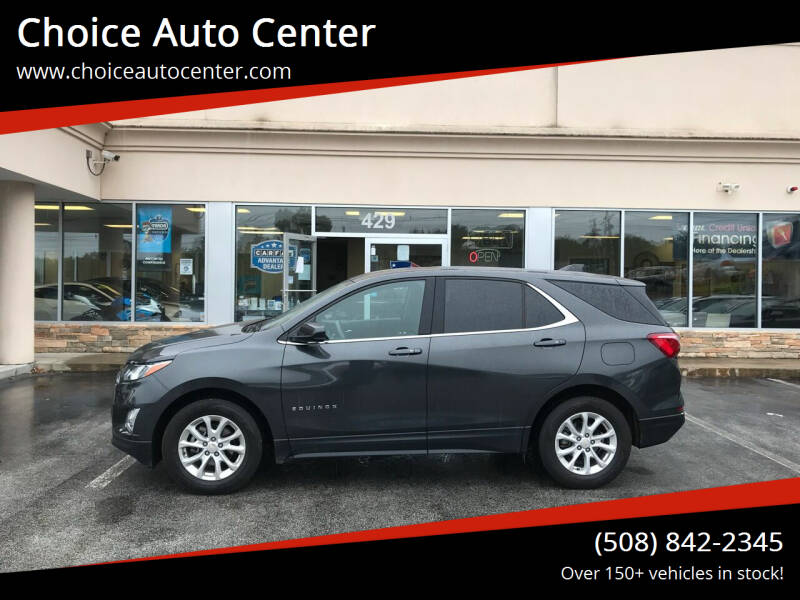 2019 Chevrolet Equinox for sale at Choice Auto Center in Shrewsbury MA