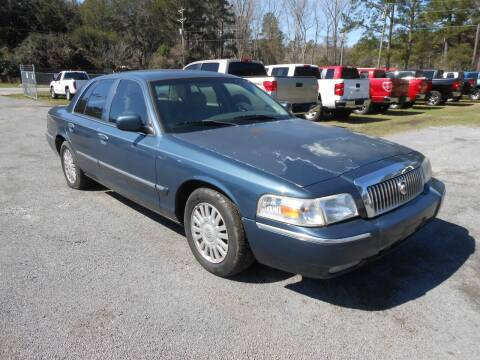 2007 Mercury Grand Marquis for sale at Jeff's Auto Wholesale in Summerville SC