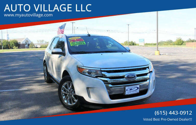2013 Ford Edge for sale at AUTO VILLAGE LLC in Lebanon TN