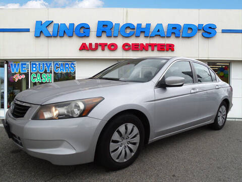 2010 Honda Accord for sale at KING RICHARDS AUTO CENTER in East Providence RI