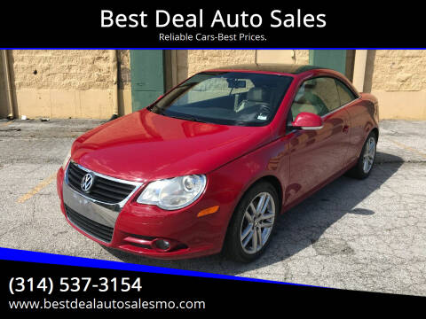 2008 Volkswagen Eos for sale at Best Deal Auto Sales in Saint Charles MO