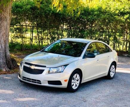 2013 Chevrolet Cruze for sale at Sunshine Auto Sales in Oakland Park FL