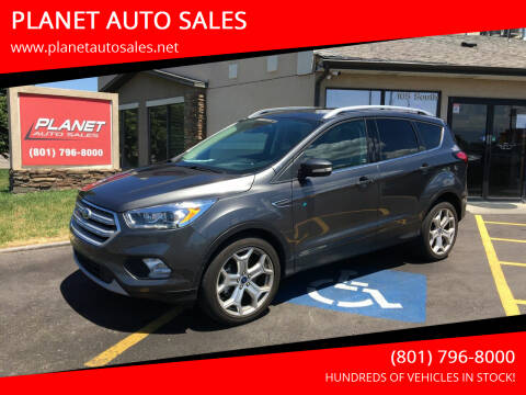 2019 Ford Escape for sale at PLANET AUTO SALES in Lindon UT