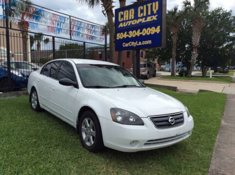 2002 Nissan Altima for sale at Car City Autoplex in Metairie LA