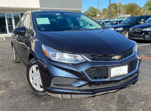 2016 Chevrolet Cruze for sale at KAYALAR MOTORS in Houston TX