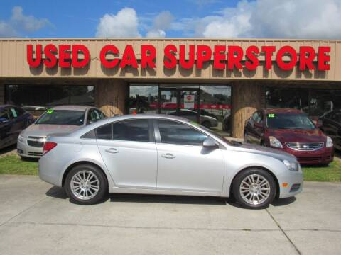 2014 Chevrolet Cruze for sale at Checkered Flag Auto Sales NORTH in Lakeland FL