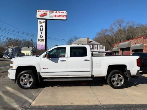 2016 Chevrolet Silverado 2500HD for sale at 401 Auto Sales & Service in Smithfield RI