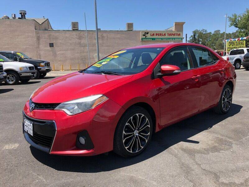 2014 Toyota Corolla for sale at C J Auto Sales in Riverbank CA