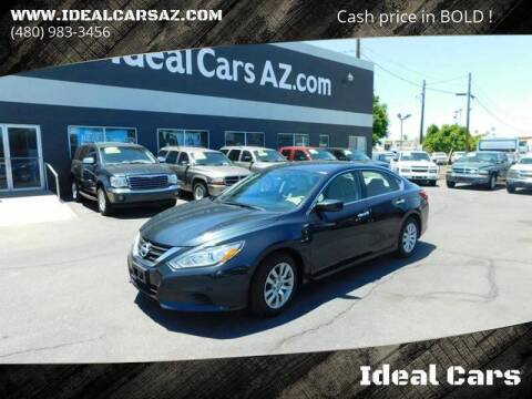 2016 Nissan Altima for sale at Ideal Cars Apache Trail in Apache Junction AZ