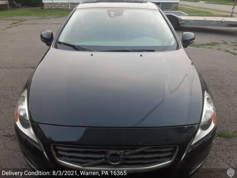 2013 Volvo S60 for sale at MEANS SALES & SERVICE in Warren PA