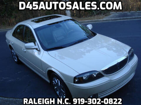 2003 Lincoln LS for sale at D45 Auto Brokers in Raleigh NC
