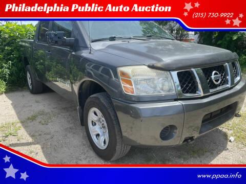 2006 Nissan Titan for sale at Philadelphia Public Auto Auction in Philadelphia PA