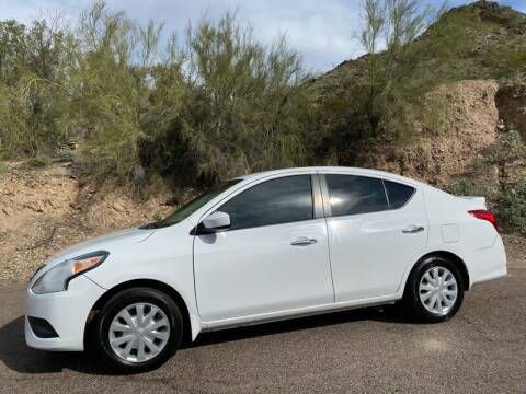 2016 Nissan Versa for sale at Baba's Motorsports, LLC in Phoenix AZ